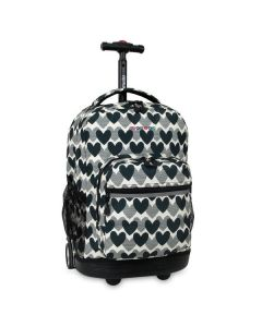 Sunrise Wheeled Backpack Heart Dot