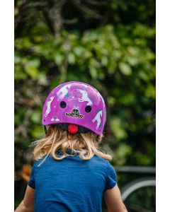 Unicorn Multi Sports Helmet With Rear Light