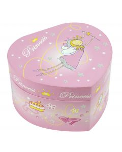Trousselier Heart Musical Princess - Pink Princess Figurine